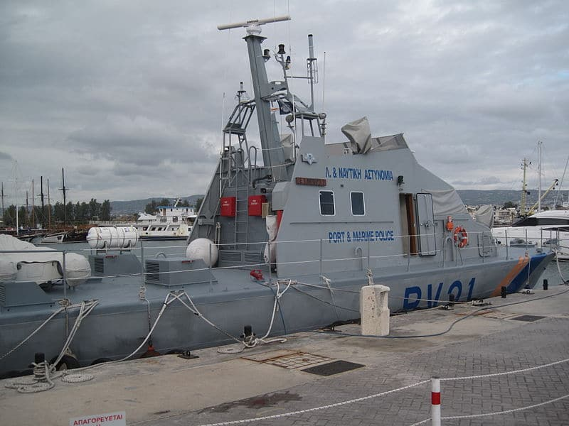 Cyprus Turkish coastguard