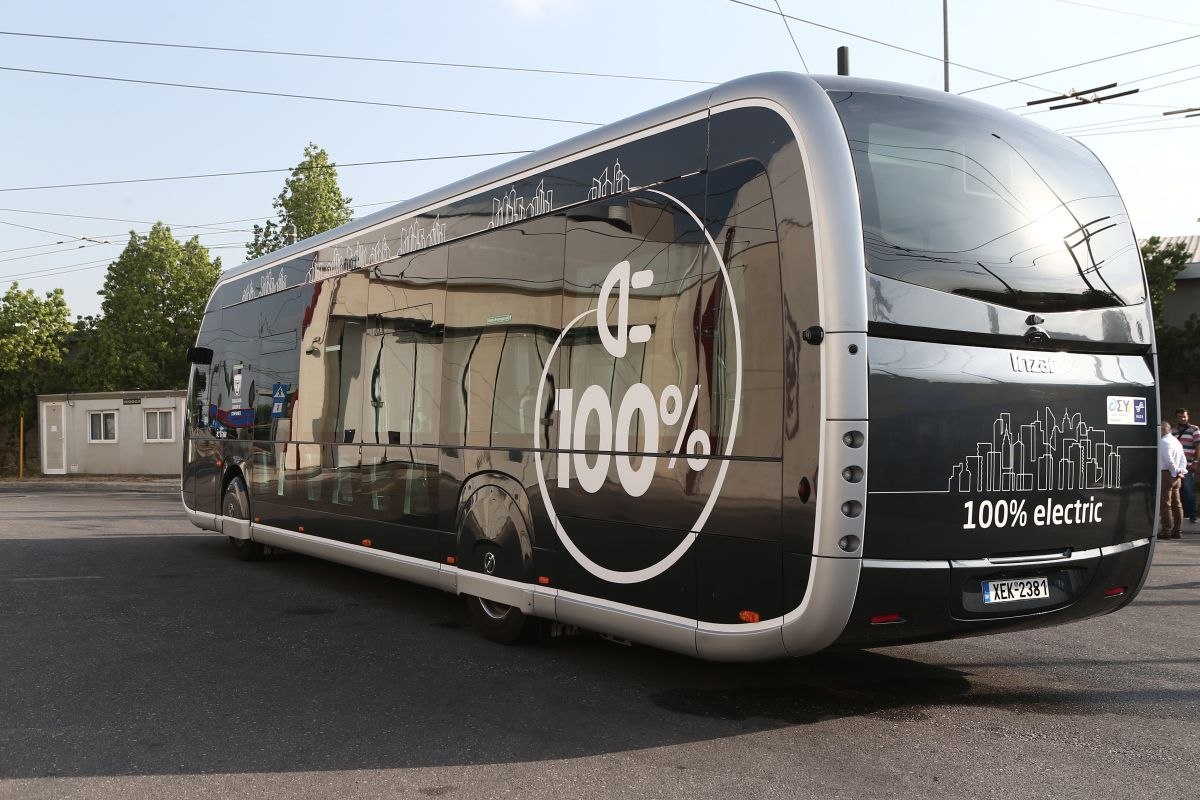 electric buses Athens