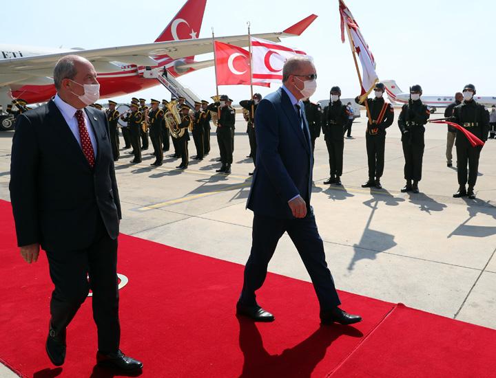 Erdogan Cyprus visit