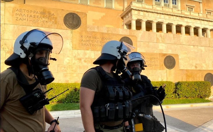 Greece protests Amnesty