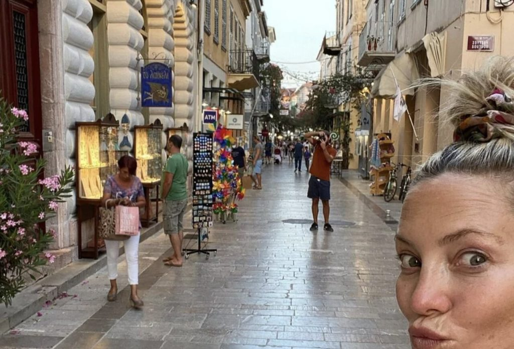 Kate Hudson Nafplio celebrities Greece