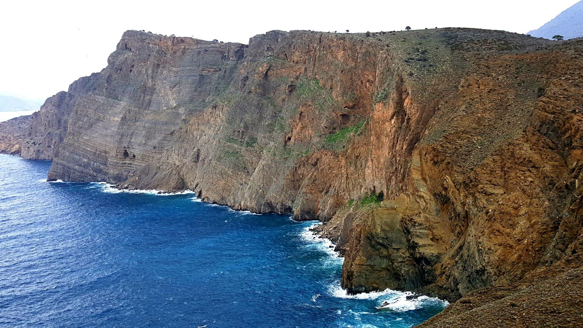 Greece geology landscape