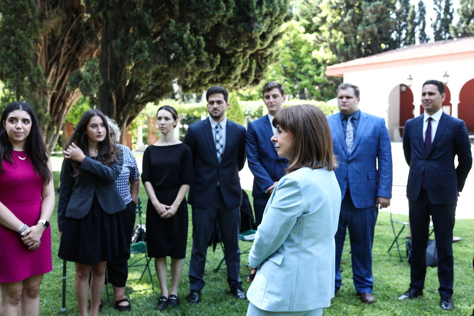 Greek American students