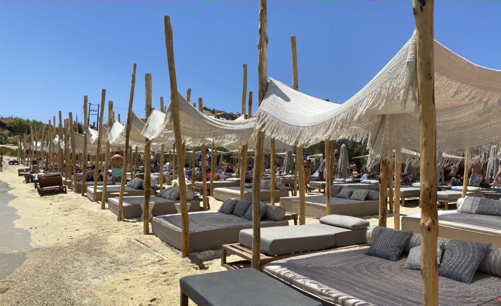 beach bar cafe Greece