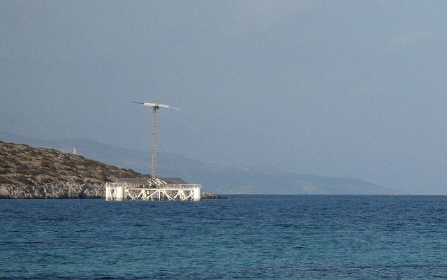 floating offshore desalination unit