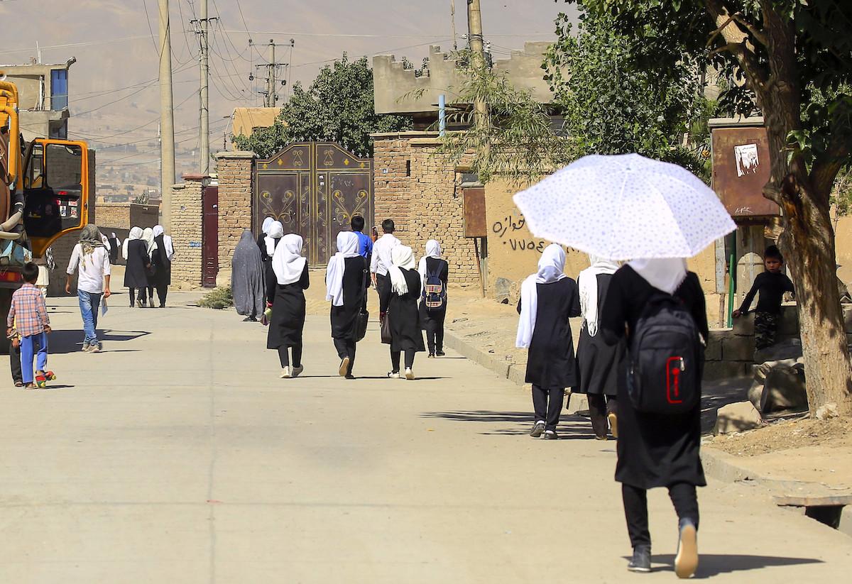 Taliban Enter Kabul Afghanistan
