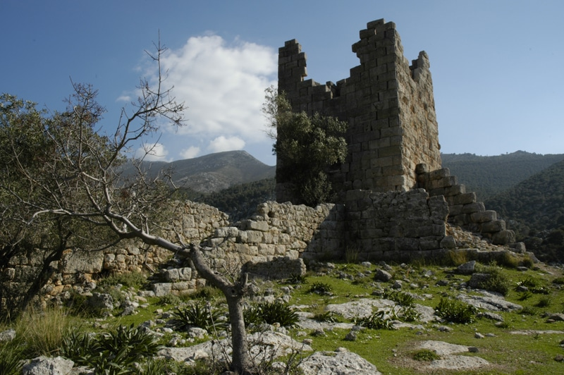 Ancient fortress Aigosthena