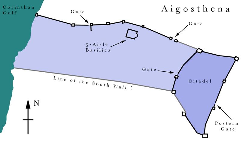 Aigosthena fortress