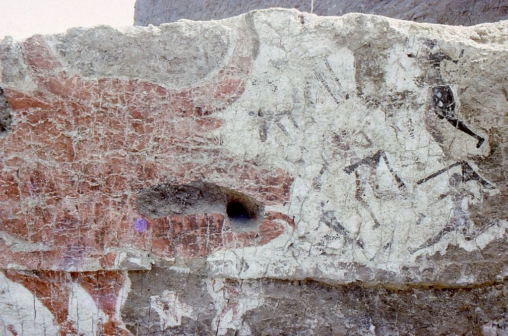 Aurochs mural