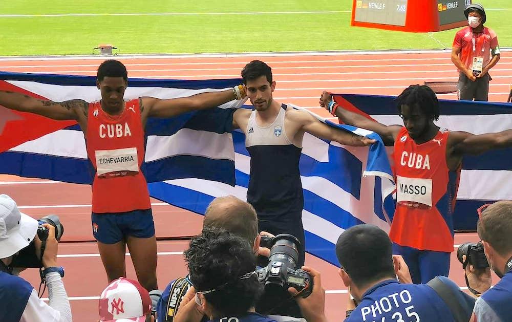 Miltiadis Tentoglou of Greece Tokyo Olympics