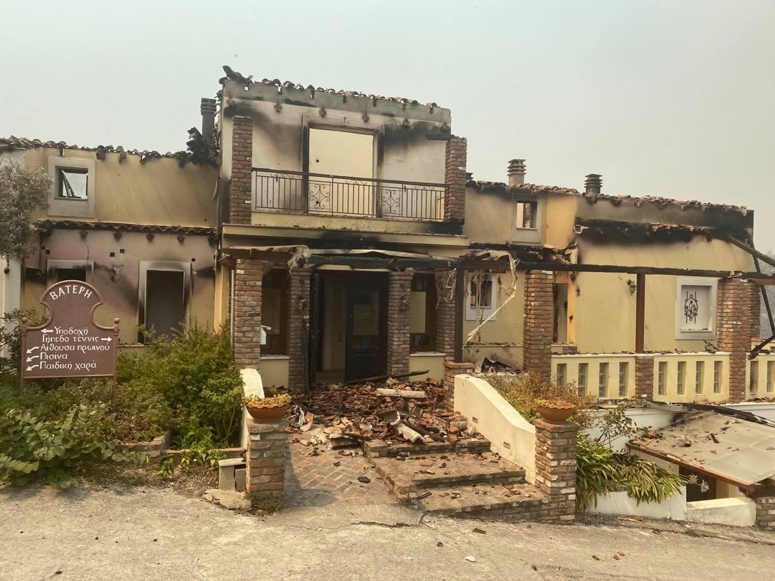 greece fires evia