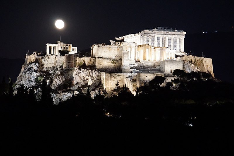 Full Moon Acropolis