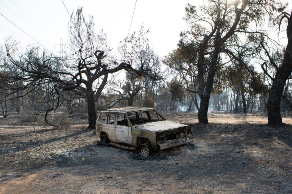 Evia, Varympompi fires