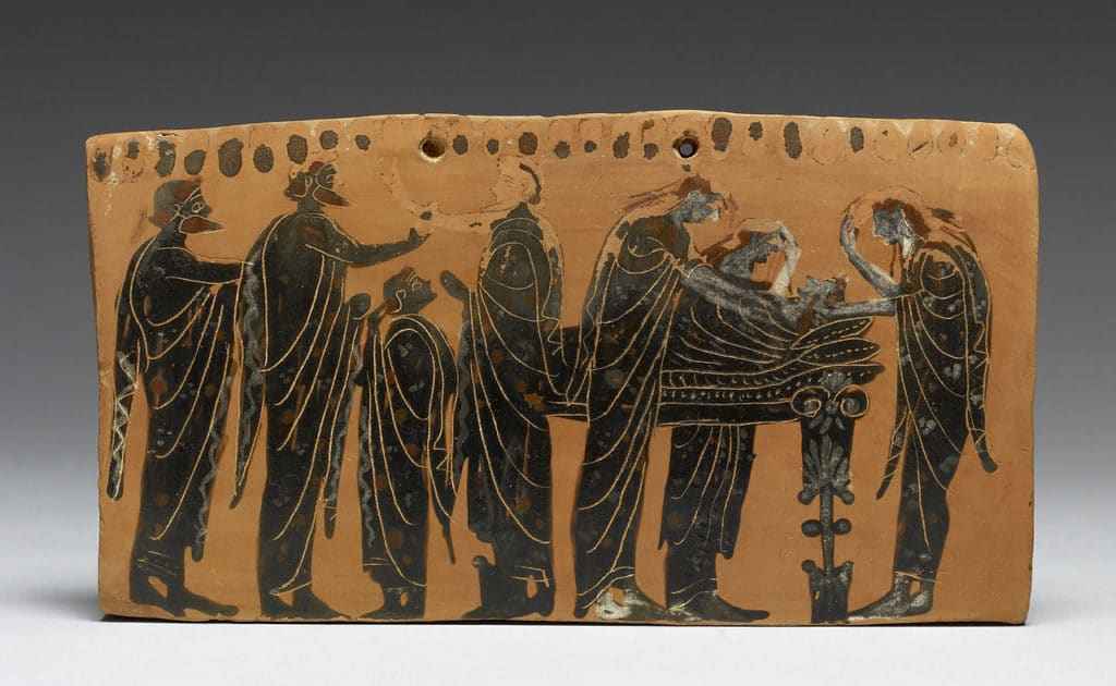 Greek funeral customs