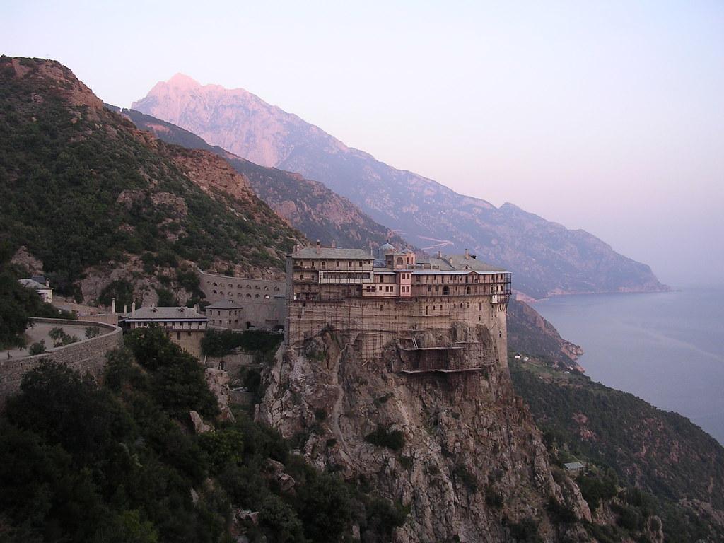 Άγιον Όρος, ηπειρωτική Ελλάδα