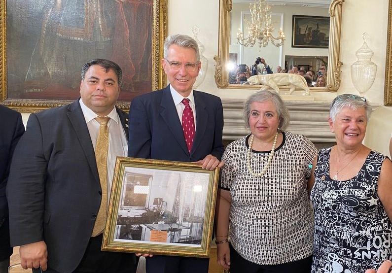 Pyatt, Papadopoulou AHEPA Award