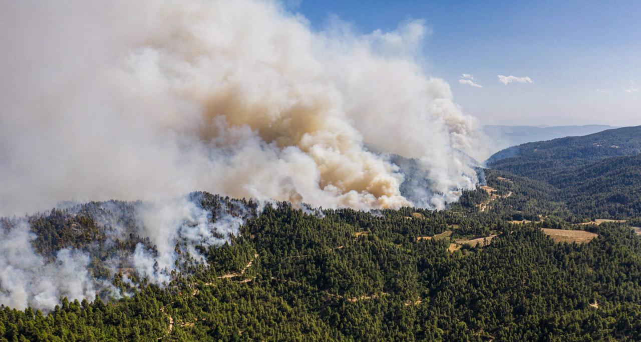 Evia fire