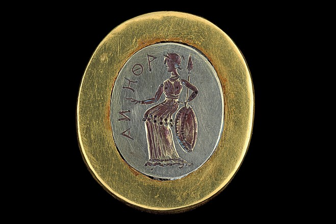 Afghan Athena stamp from Alexander the Great