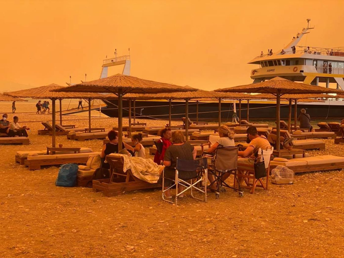 Massive Evia Fire Continues to Destroy Island; Shames Greek State