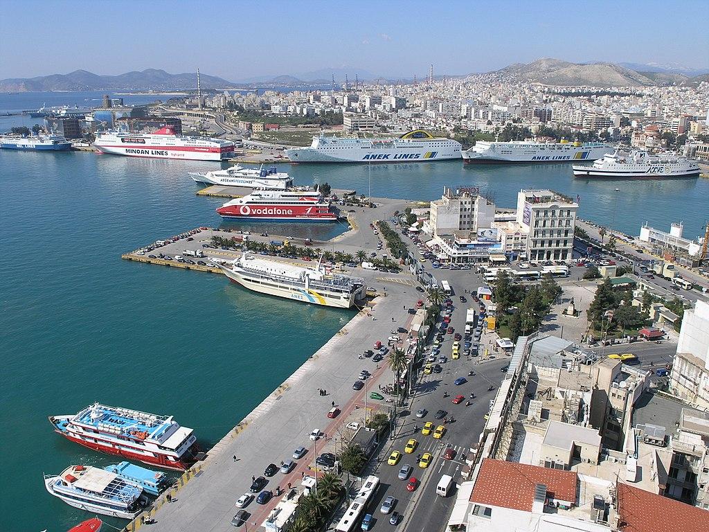 Greek ports