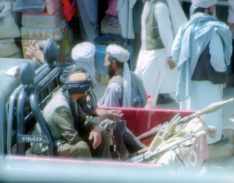 Taliban enter Kabul, Afghanistan
