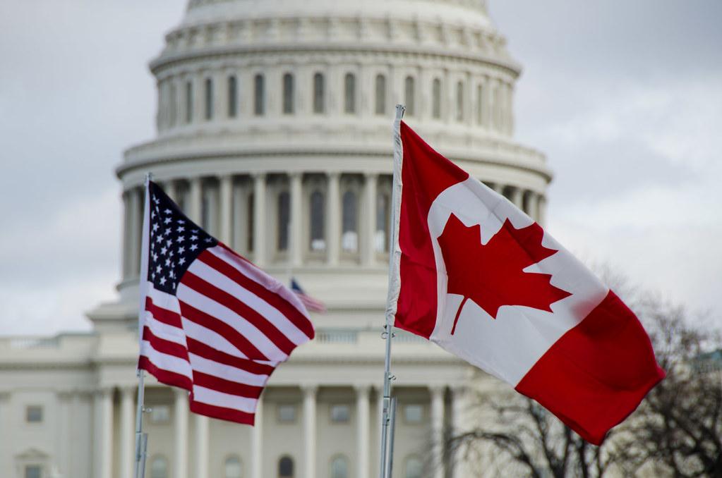 Canada United States Border