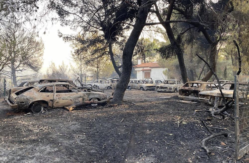 Greece fire, Varimpimpi