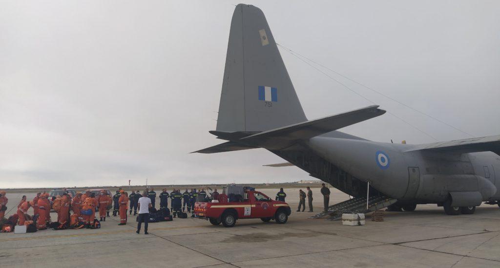 Fire help Greece Cyprus Sweden