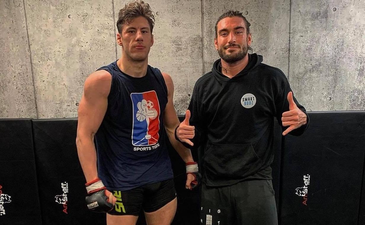 Greek-Canadian MMA fighters Tom Theocharis Elias Theodorou