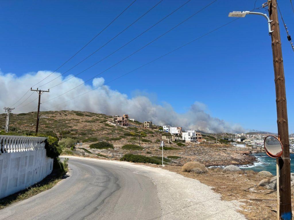 Lavrio fire