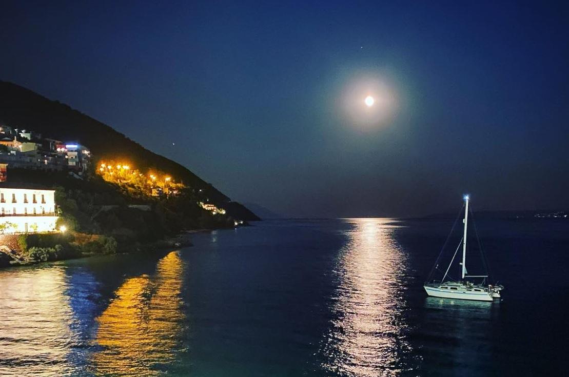 blue moon Greece