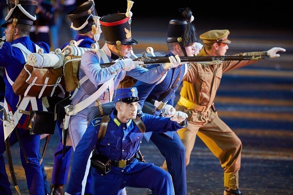 Greece military band