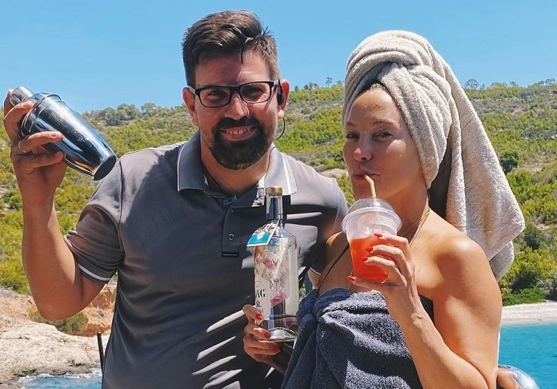 Kate Hudson cocktail Skiathos