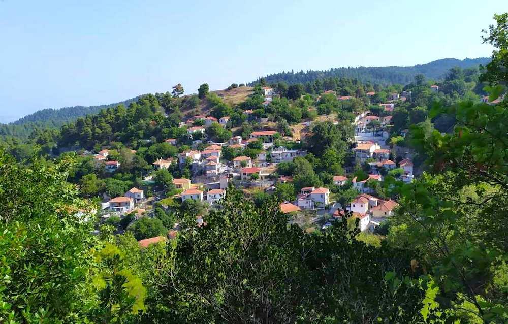 Kokkinomilia, Evia before fire