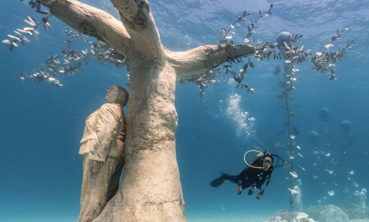 underwater museum Cyprus MUSAN