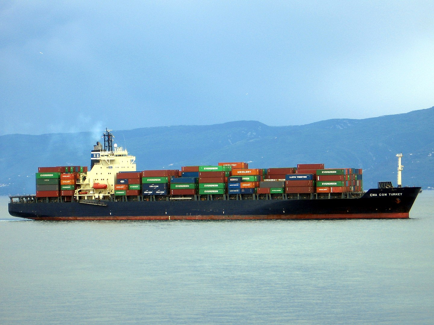 shipping containers lost in sea