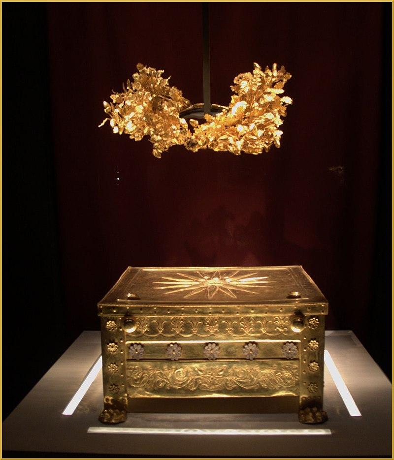 Tomb Philip of Macedon