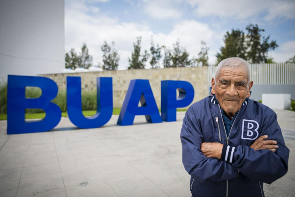 84 year old university graduate engineering