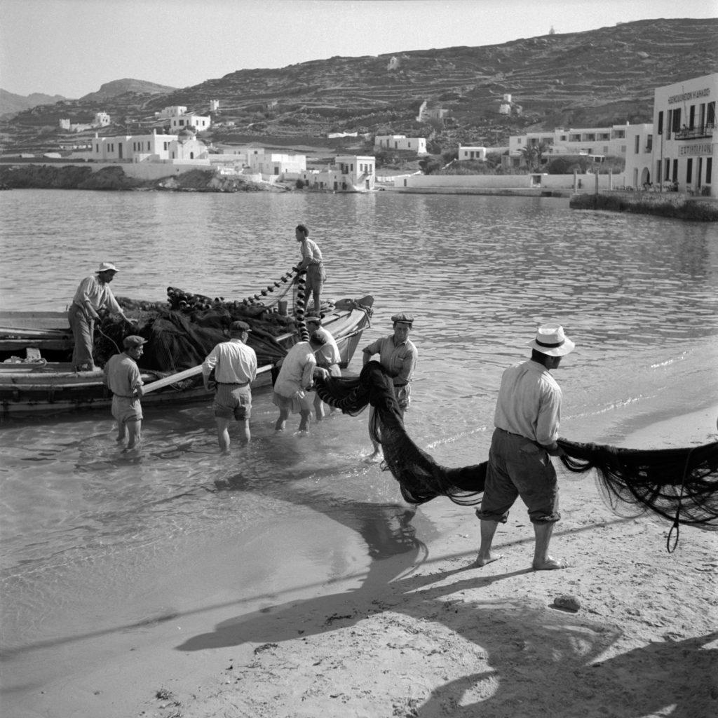 fisherman in Mykonos 1950s McCabe