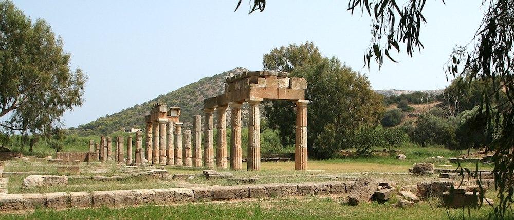archaeological site attica greece