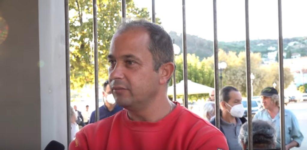 Evia firefighter