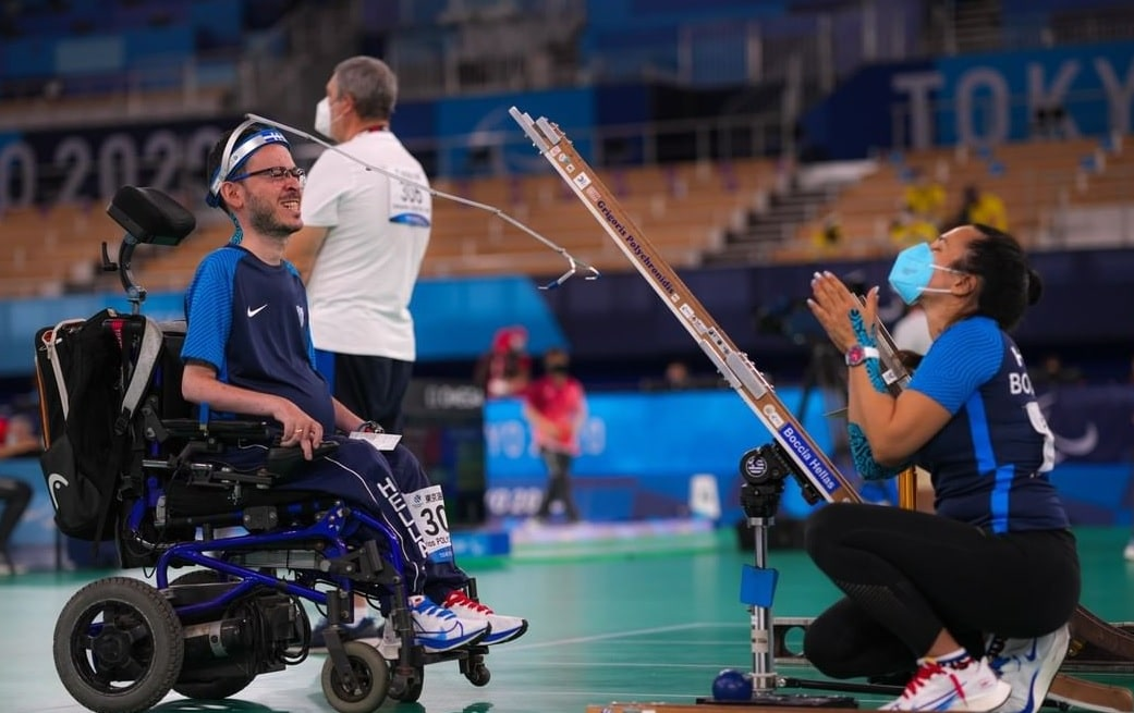 Greece Greek Paralympics Boccia
