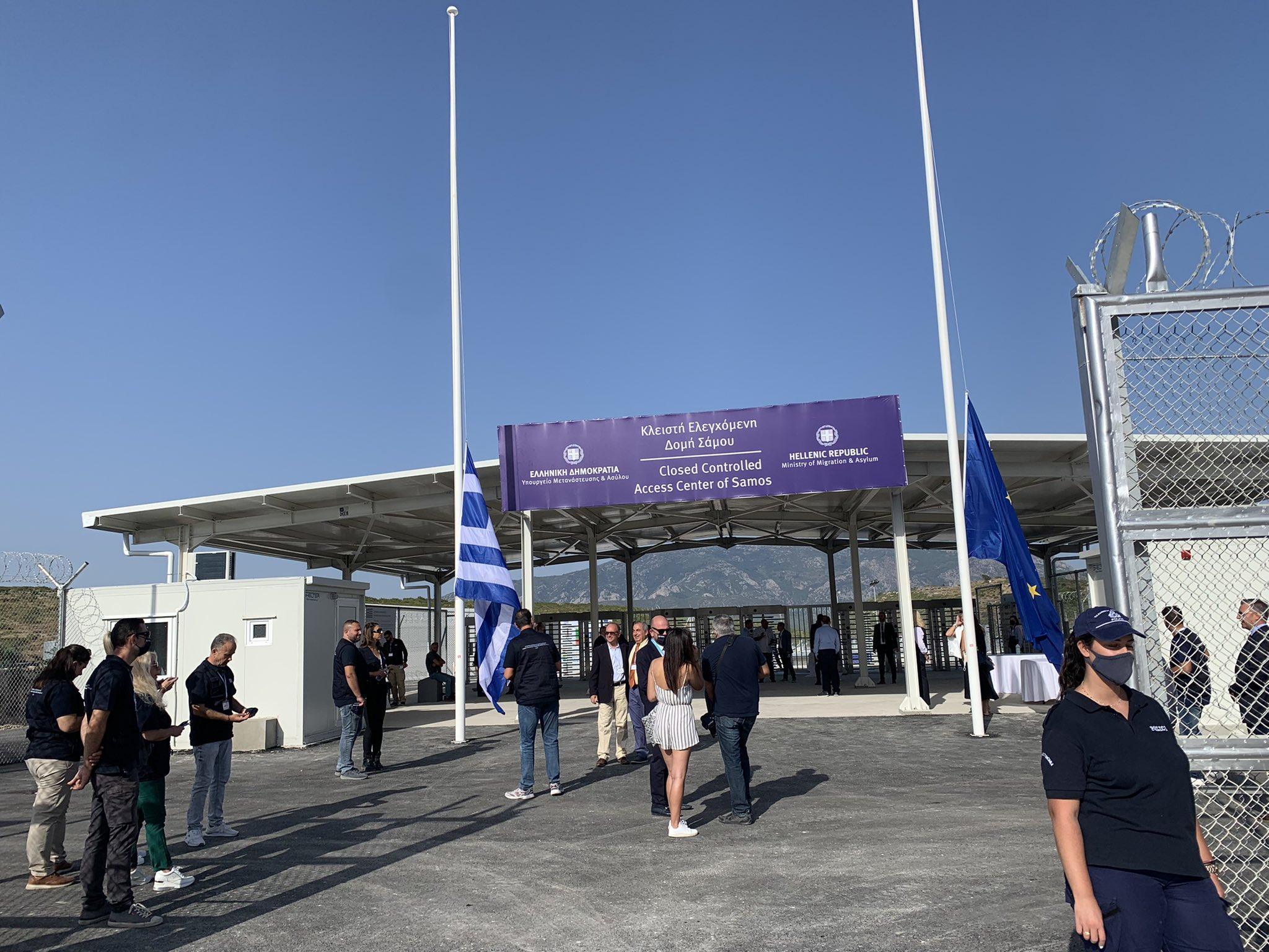 Migrant Camps Greece