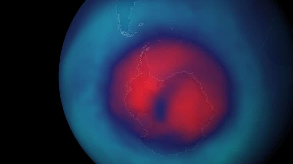 Ozone Hole Over South Pole Has Become Larger than Antarctica
