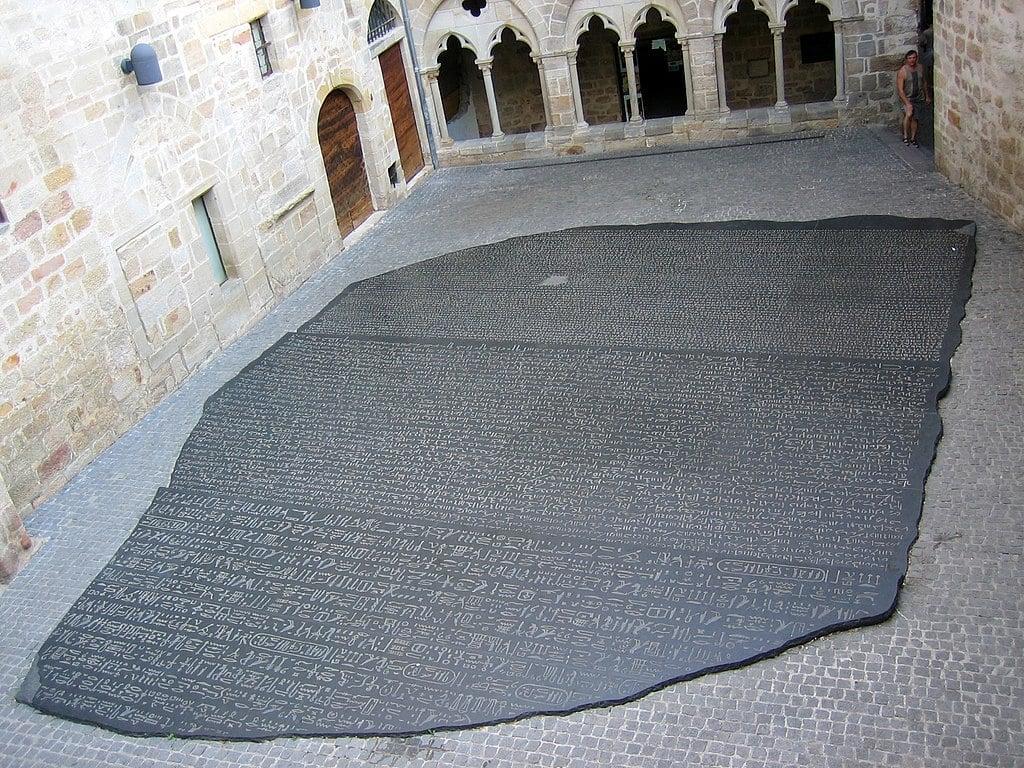 Rosetta Stone recreation