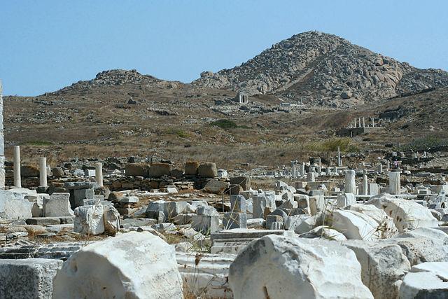 Delos mount Kythnos