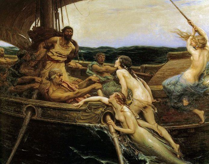 Οδυσσέας (ρωμαϊκό όνομα Οδυσσέας) και Σειρήνες - Οδύσσεια του Ομήρου