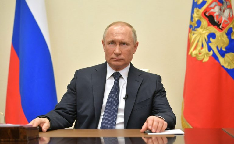 Vladimir Putin Self-Isolates After Being Exposed to COVID-19
