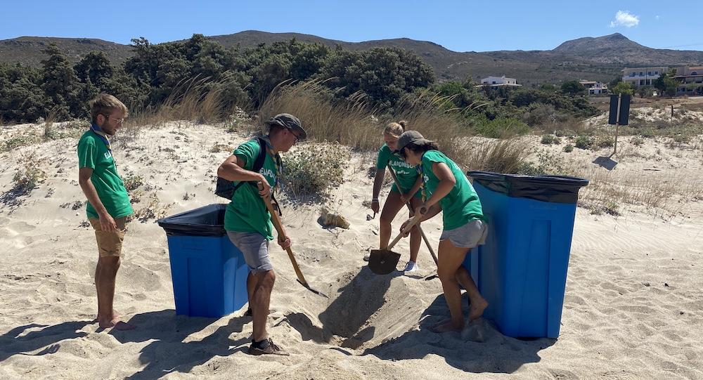beach clean elafonisos eco