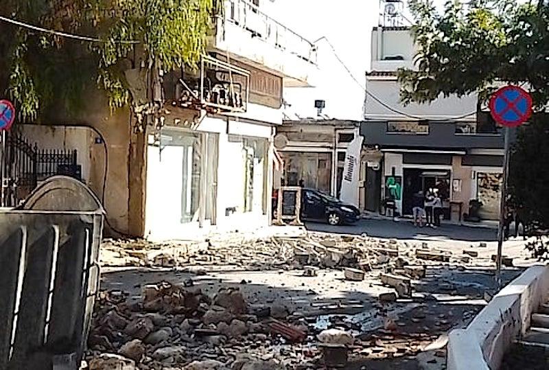 Crete earthquake